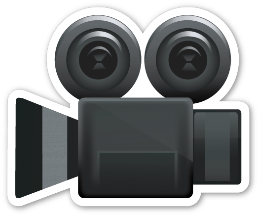 Image result for video camera emoji